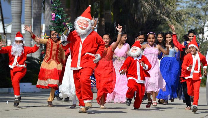 Christmas festival in India