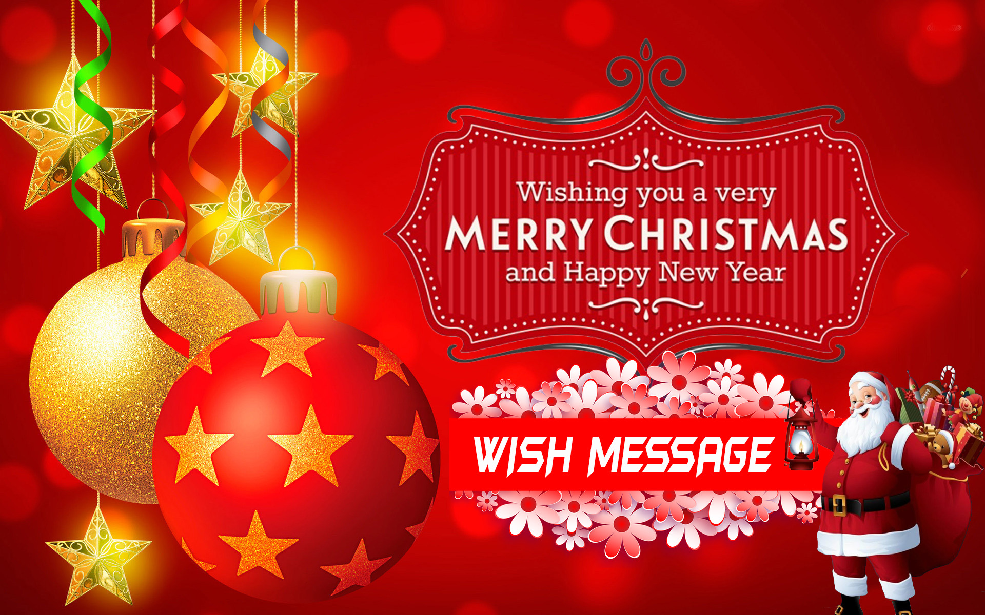 marry Christmas wishes