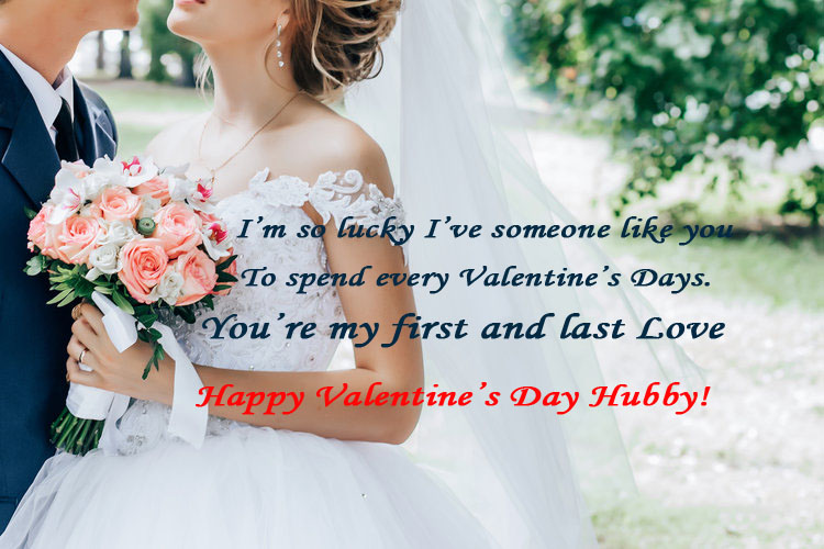 Valentine's Day Wishes for Husband