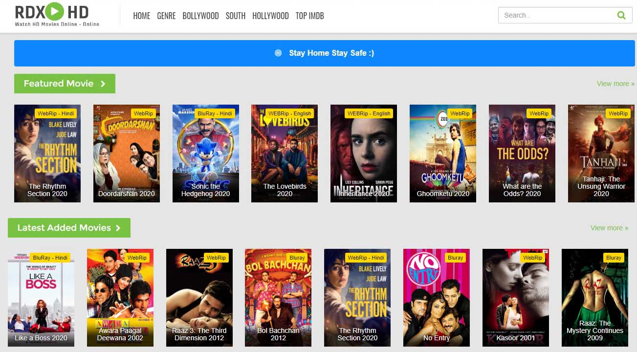 Rdxhd movie online